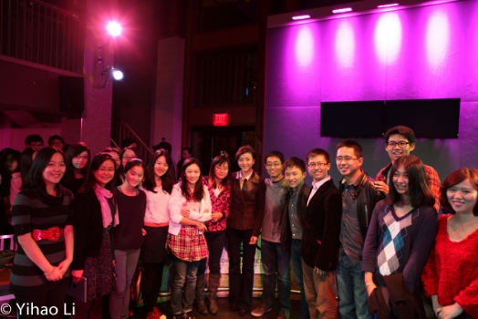GCC Tufts Chapter with talkshow host Yang Lan and comedian Joe Wong
