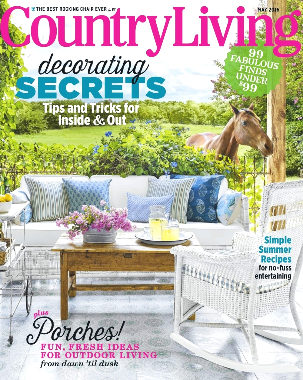Country Living Cover May 2016