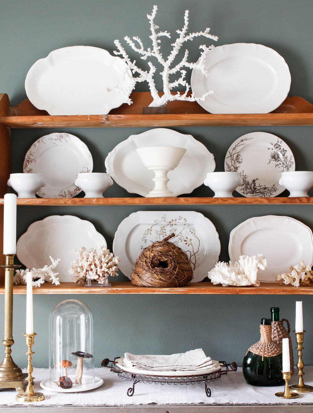 Becki Griffin's Curious Details | Shelf Styling