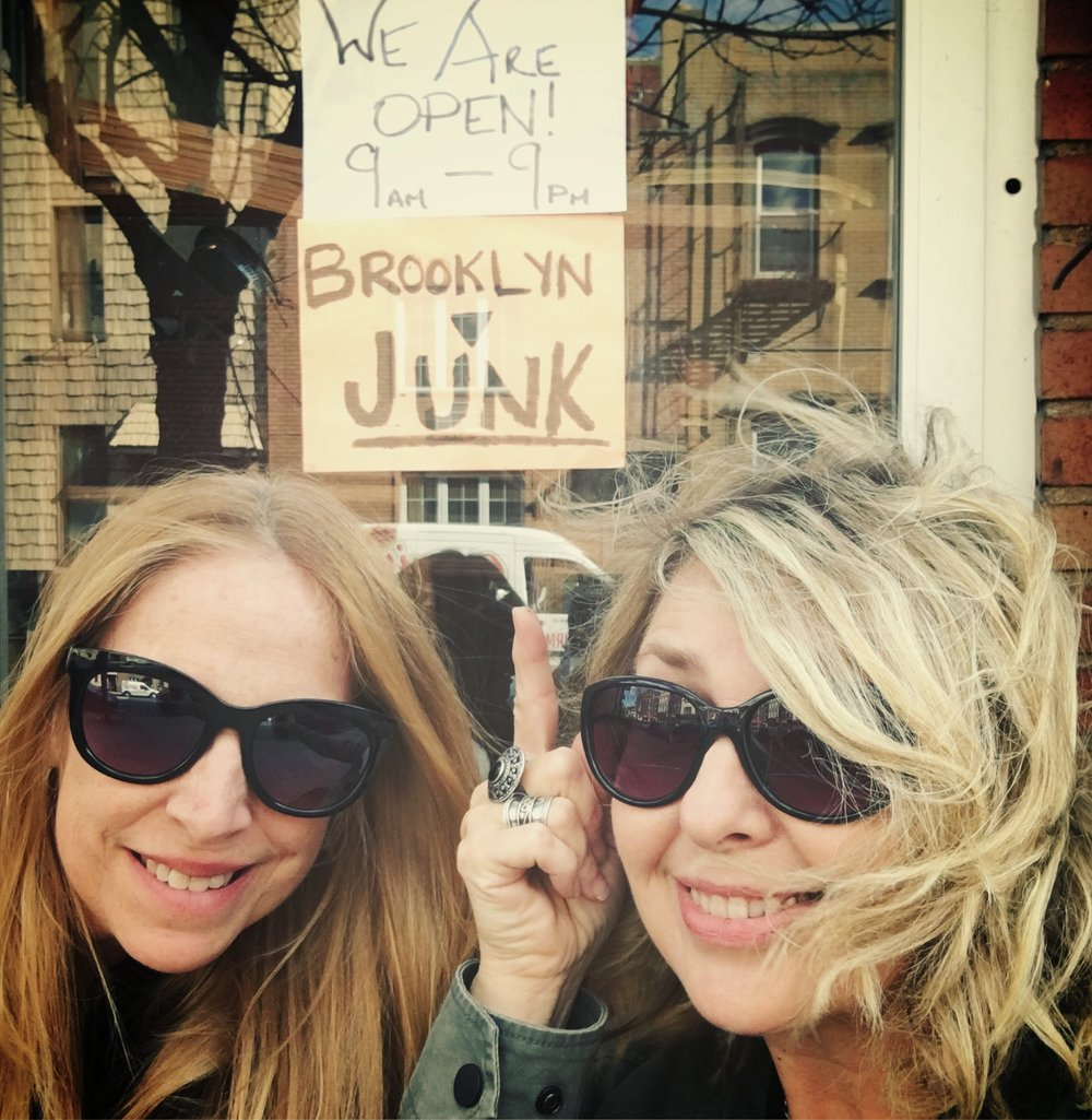 Me and Paige junkin' in Brooklyn, NY, recently. We get around!