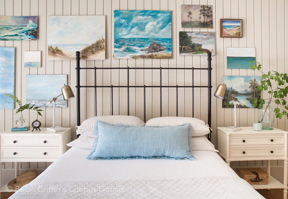 Coastal Bedroom Becki Griffin's Curious Details