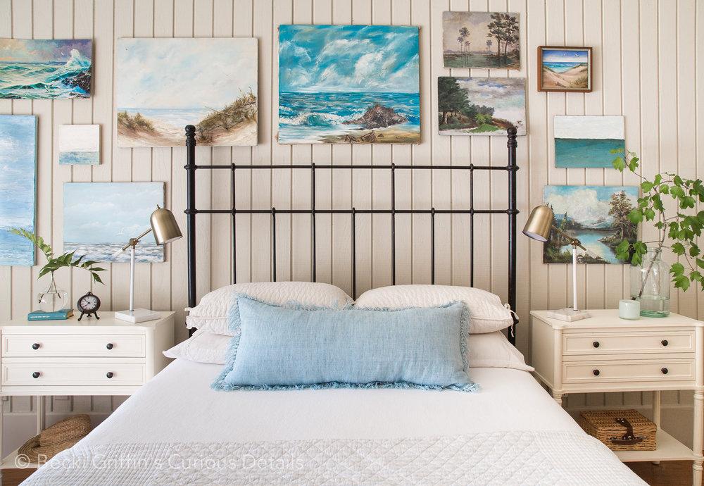 Coastal Bedroom Becki Griffinu0027s Curious Details