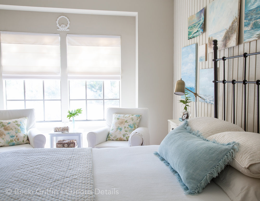 Coastal Bedroom | Becki Griffin's Curious Details