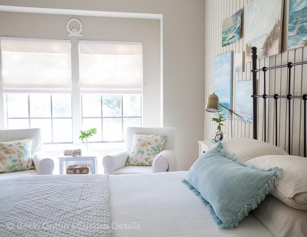 Coastal Bedroom | Becki Griffinu0027s Curious Details