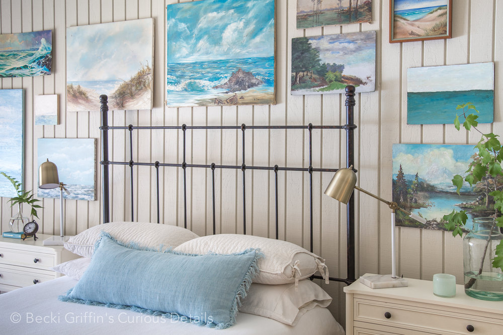 Coastal Bedroom|Becki Griffin's Curious Details
