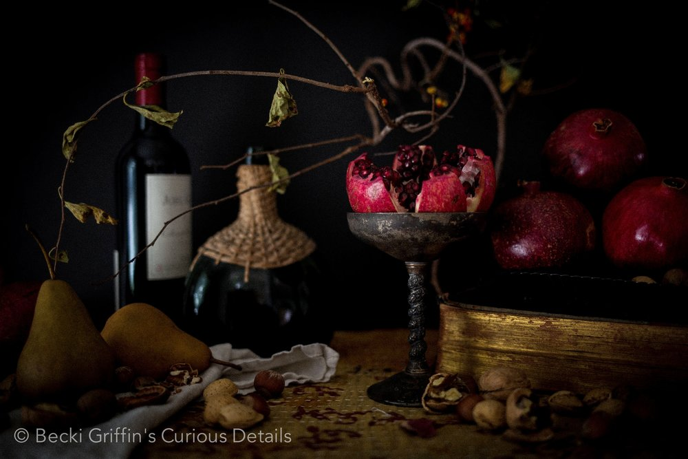 Becki Griffin's Curious Details Pomegranates
