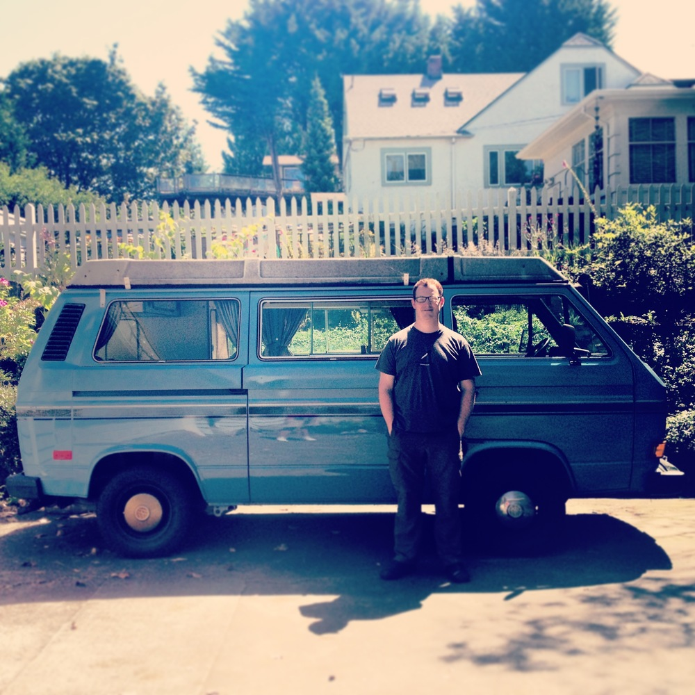 WE BOUGHT OURSELVES A VAN! (JULY 3, 2013, WEST SEATTLE)