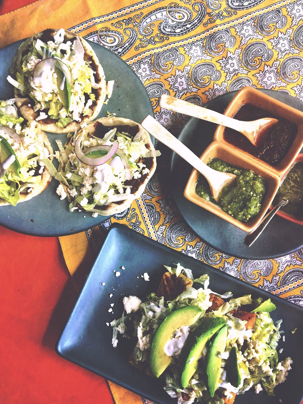 Sopas + Flautas at Yerbabuena Restaurant