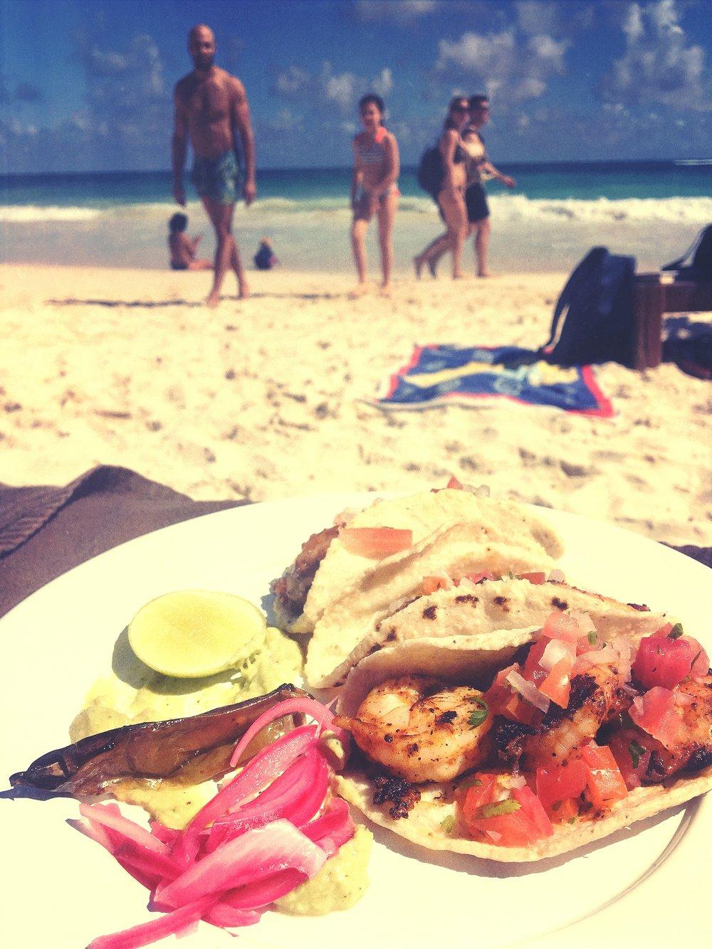 Tacos Camarones @ Ahau