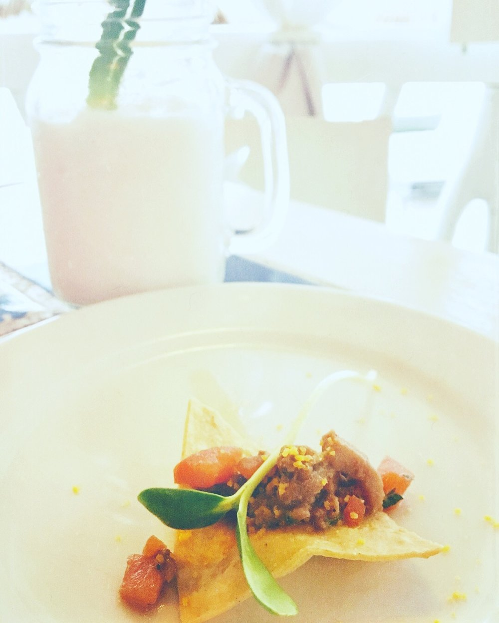 Chef's Appetizer @ Villa Las Estrellas