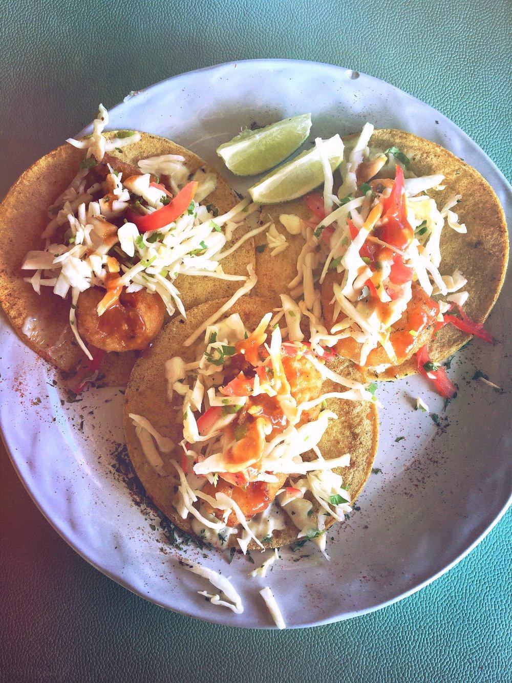 Tacos Camarones @ Ballyhoo
