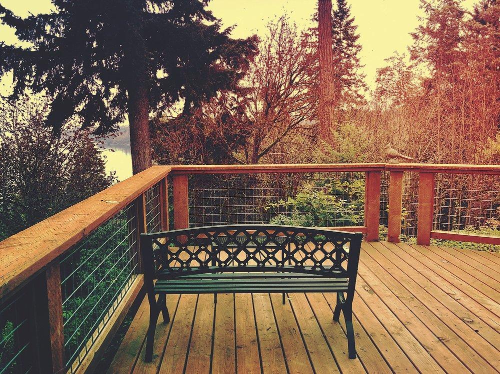 Peaceful thinking spot ...
