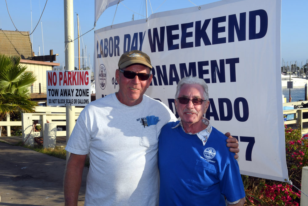 President Don Wroncy and tournament Director John Ashley -  Thanks guys for making it happen.