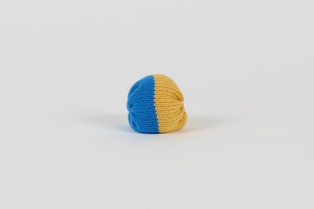 COLLECTION-CAPSULE ÉTÉ Balle Aki / bleu et jaune $9.00 CAD