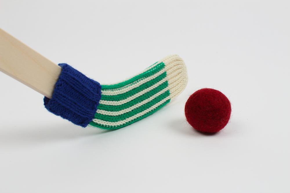 Bâton de hockey - bleu et vert $34.00 CAD