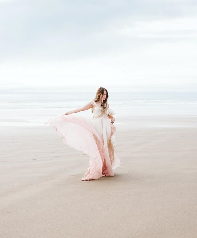 "It was a successful week on the Oregon coast photographing, learning how to build a stronger photo business, and making friends - like this beauty! This image is one of my favorites from the week because it was not staged or posed. It was a ""between-shots-shot"" which tend to be my favorites from most shoots!"