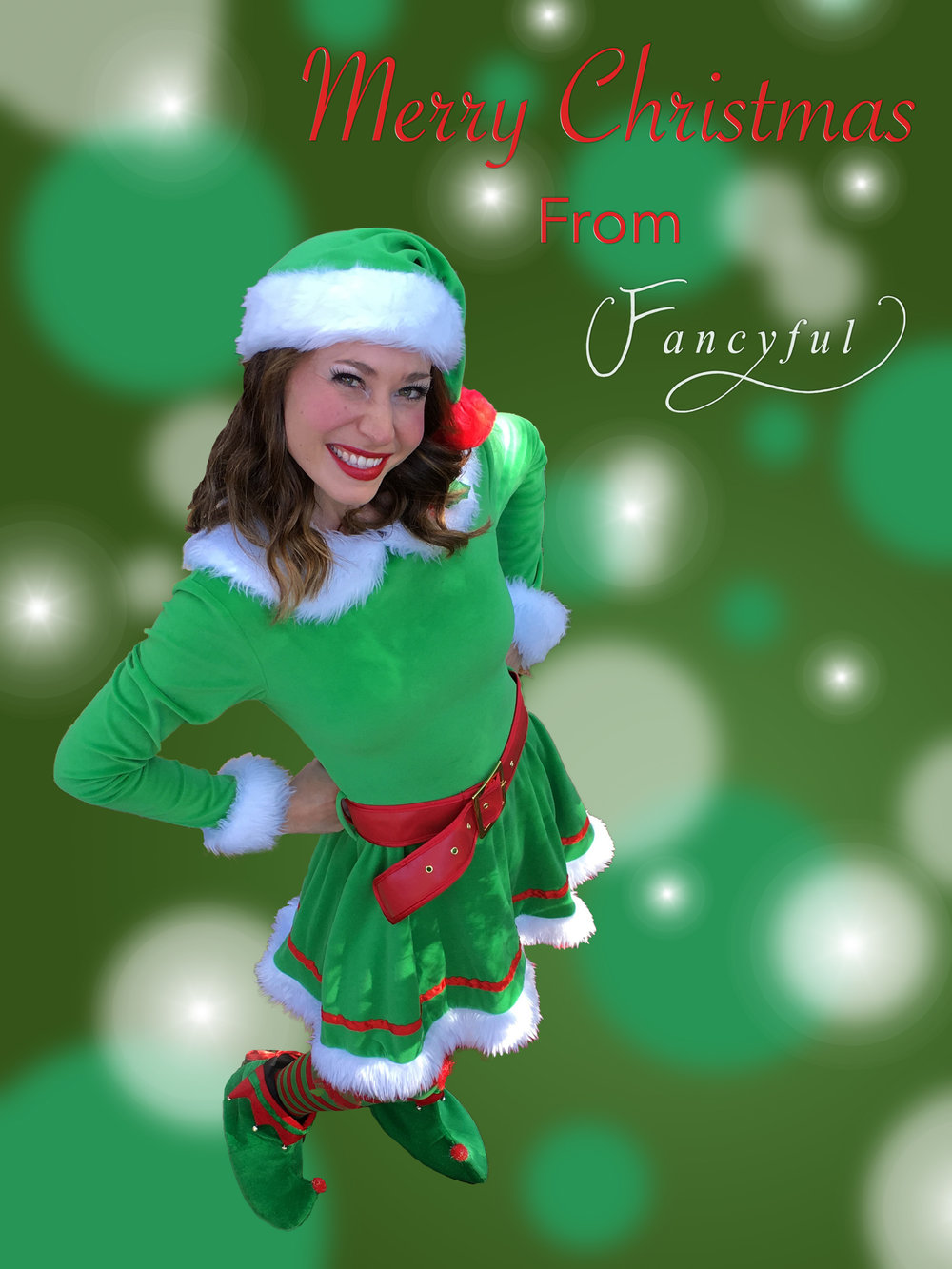 - Includes:-A visit from Elf-ette