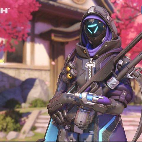 Ana: Shrike Skin - Overwatch