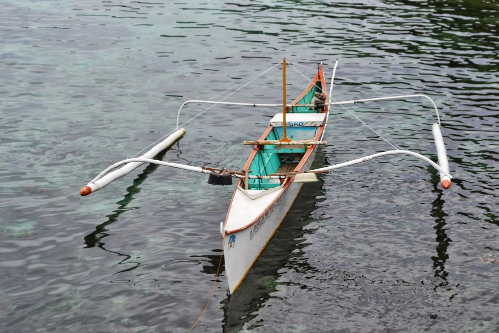 A traditional artisanal fishing vessel, Philippines, 2013.