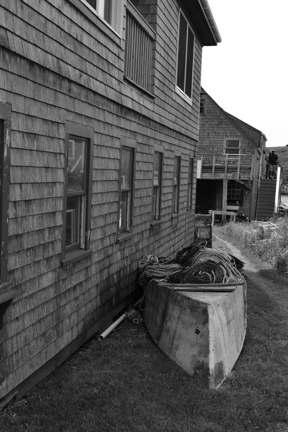 An old dory, Monhegan Island, Maine. 2011. Photo: Owen Liu