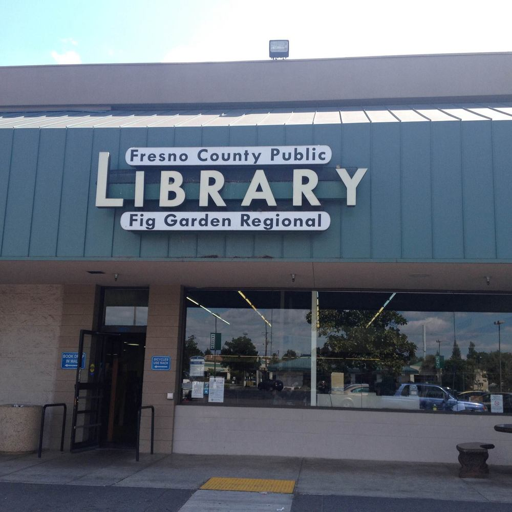 For more information about all library branches, please visit the Fresno County LIbrary's website: http://www.fresnolibrary.org/branch/index.html