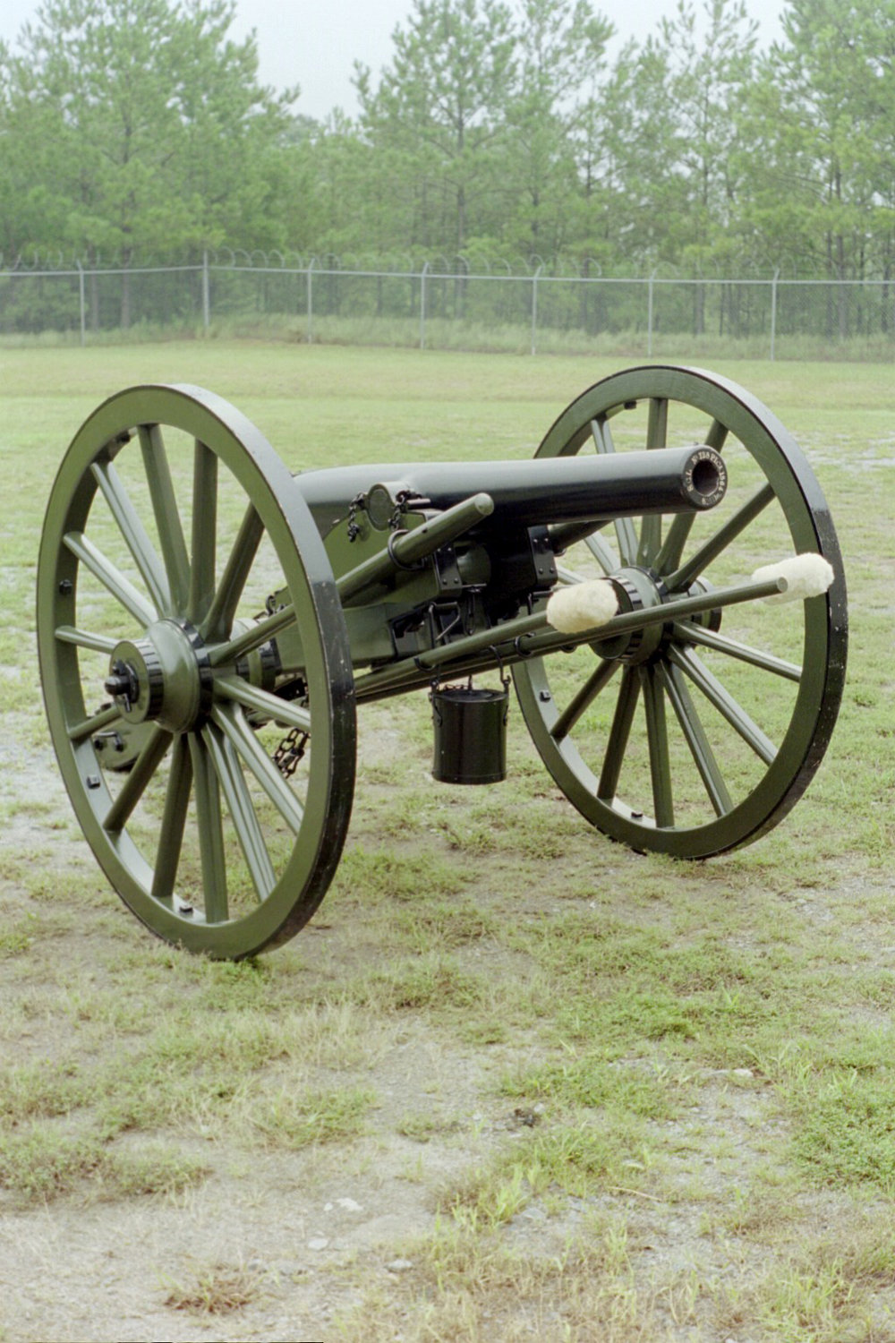 The three inch ordnance rifle cannon was used by the Kentucky battery at the Battle of Franklin.