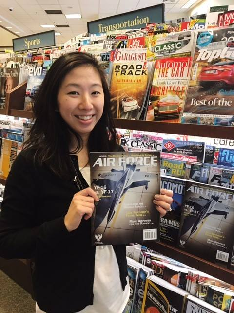 June Kim, Air Force Magazine Associate Editor