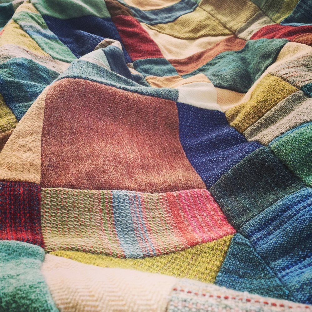 Wool blanket made for Oma