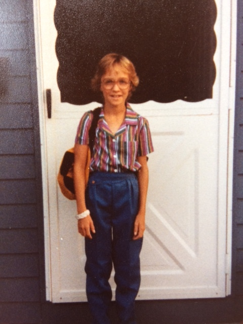 Rockin' pleated denim-4th grade