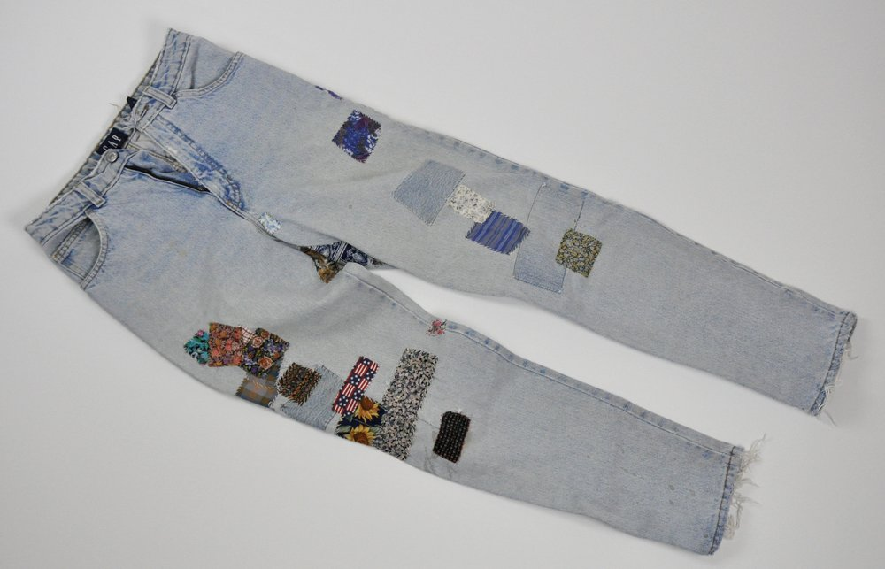 The old Gap jeans