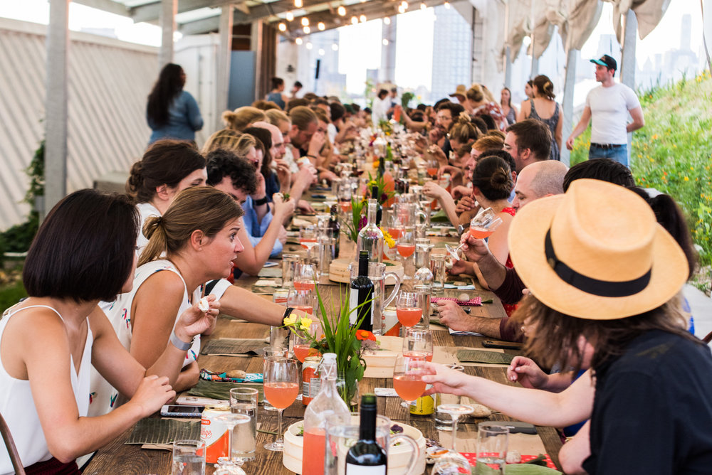 FARM DINNERS - TWICE A MONTH, JUNE - SEPTEMBERBROOKLYN NAVY YARD & LONG ISLAND CITY