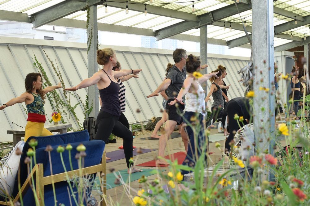 MONDAY EVENING YOGA - WEEKLY, JUNE - SEPTEMBER BROOKLYN NAVY YARD