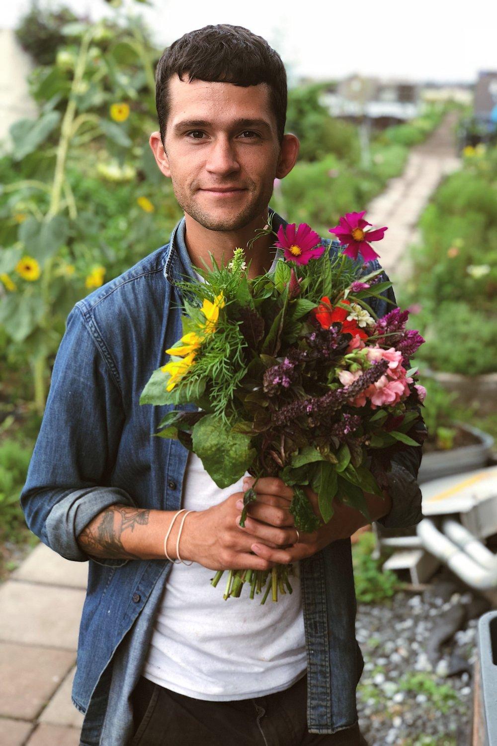 Seth Johnson, Farm Manager, Brooklyn Grange