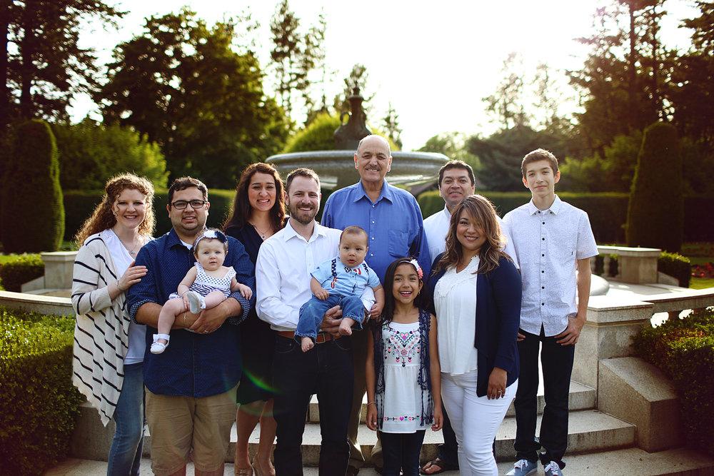 Stallones, Paz, & Silva Family
