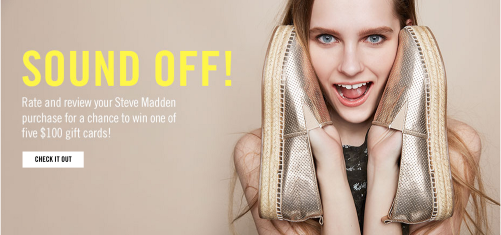 Campaign for Steve Madden