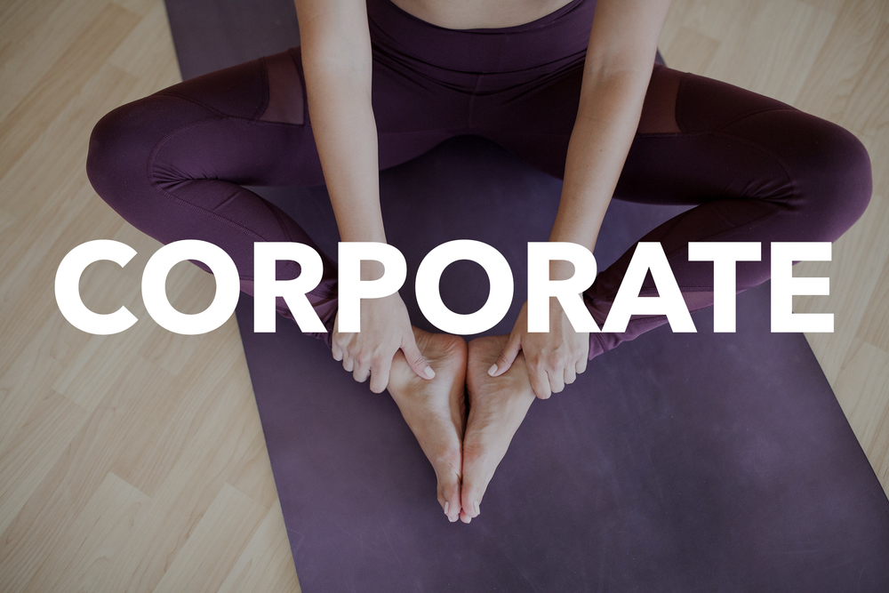 Corporate Yoga Events