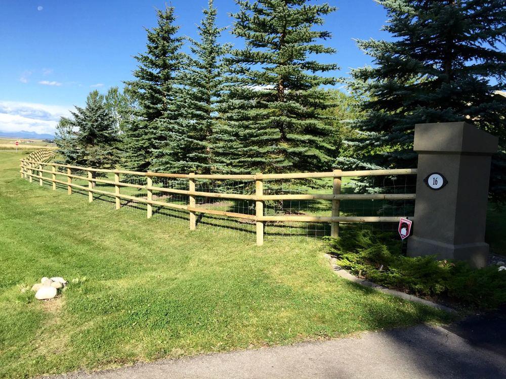 Acreage Dog Fence Deer Garden Fence Foothills Fencing Inc