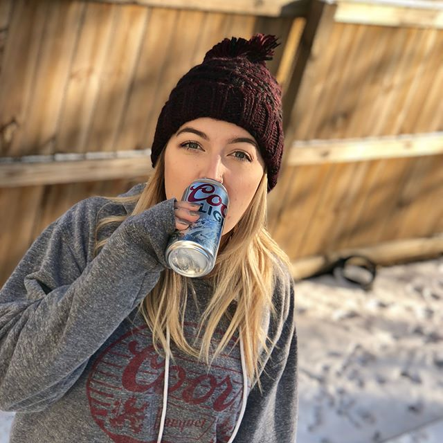 It wasn't a Golden snow day, but it tasted like one. Thank you @coorslight!
