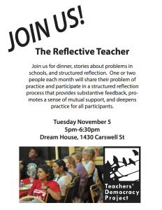 The Reflective Teacher