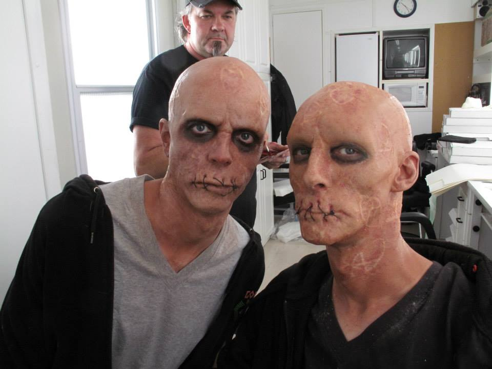 God these guys did such a great job with our make-up!