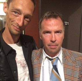 Matthew with Stanhope