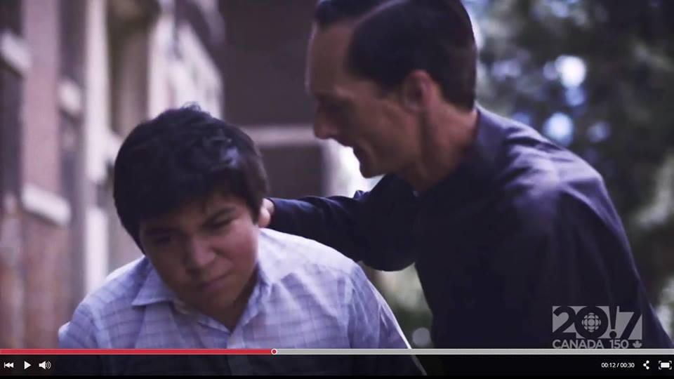 WATCH THE COMMERCIAL FEATURING MATTHEW AS A RESIDENTIAL SCHOOL PRIEST  MATTHEW HAS 4 unique ROLES IN 4 OF THE CBC CANADA STORY OF US EPISODES