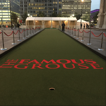 The Famous Grouse Mini Golf