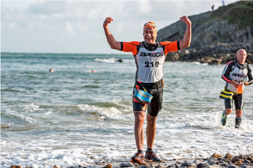 Breca Gower Swimrun Caswell Bay