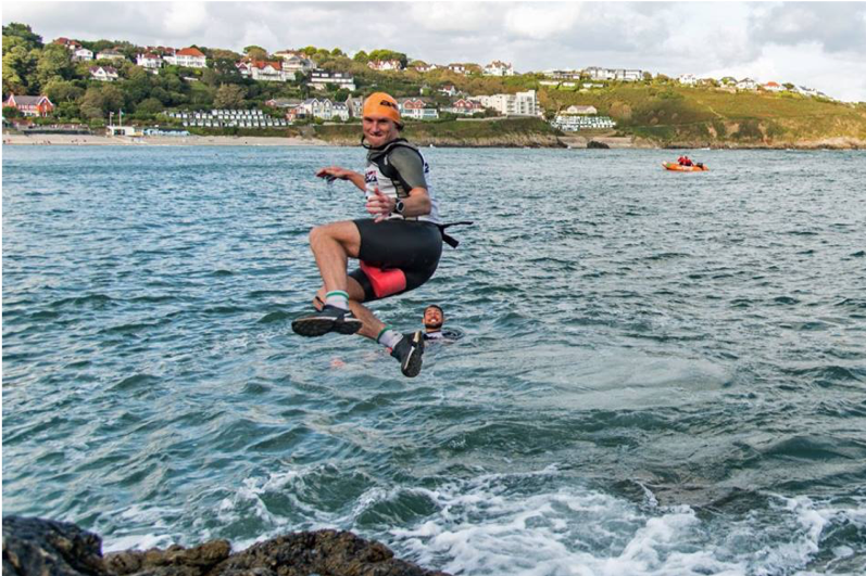 Breca Gower swimrun swim entry