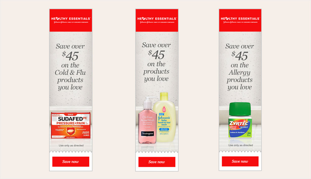 Web banners-Coupons page
