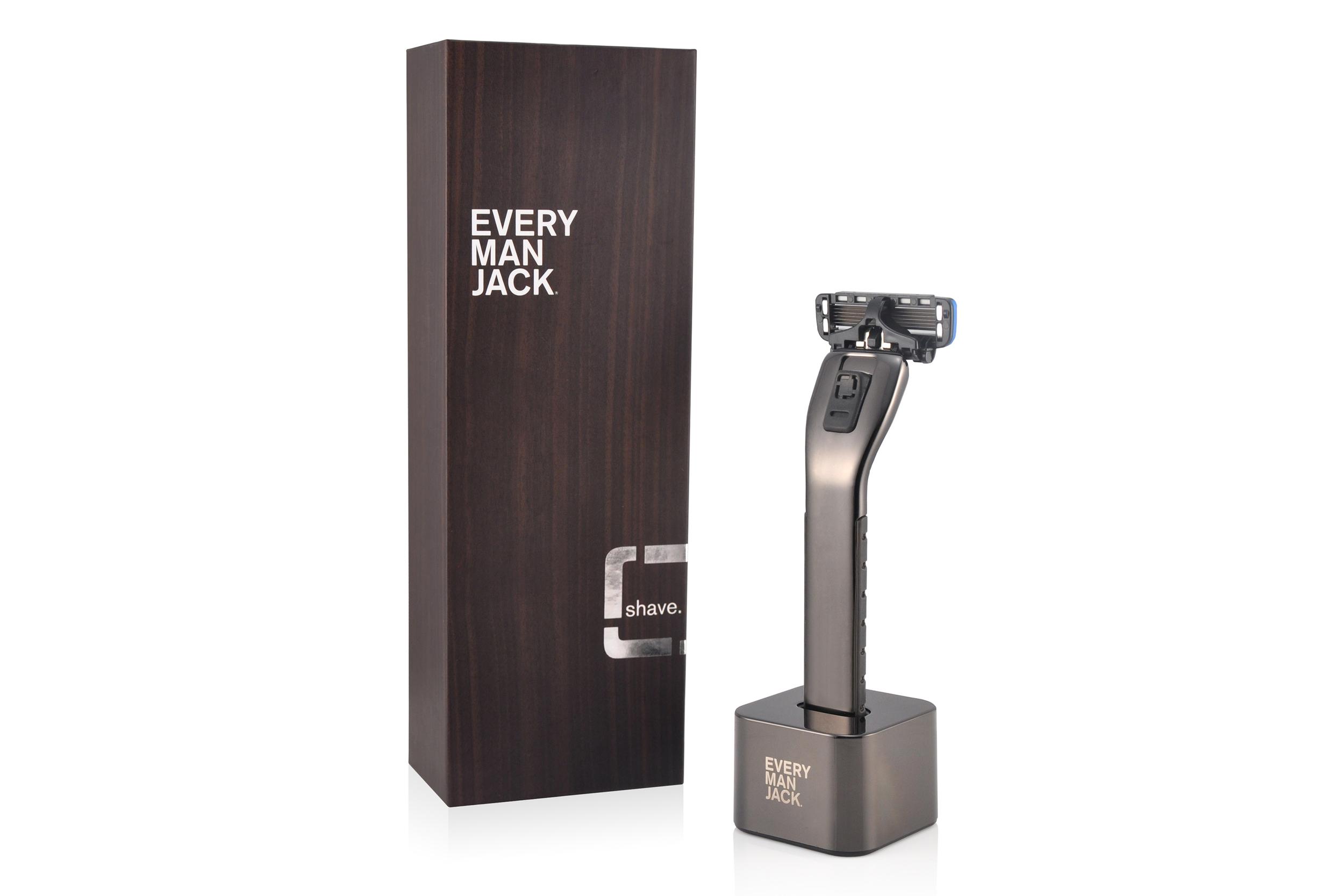 Every Man Jack | Open Flow Razor Design | Y Studios