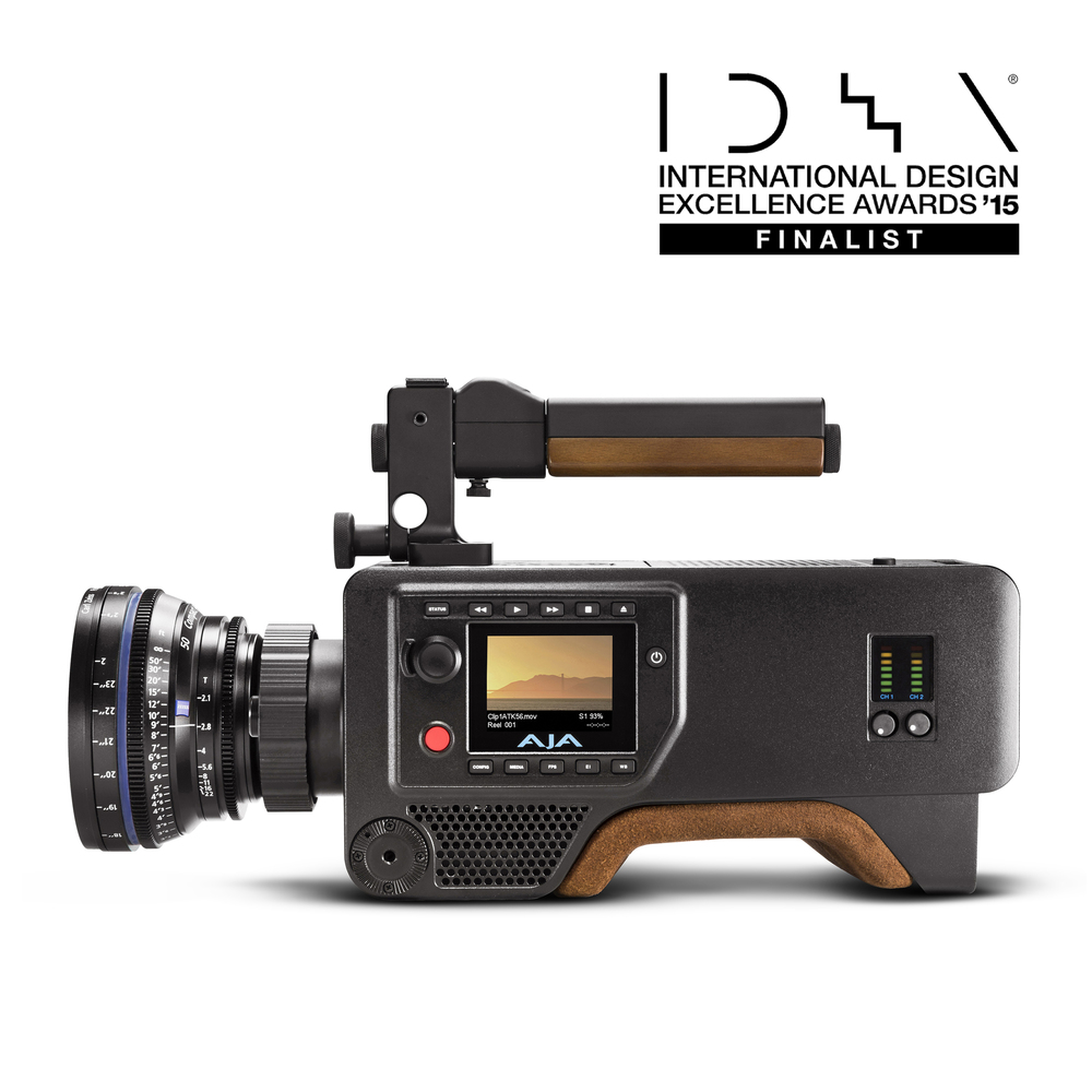 AJA Cion 4K Production Camera    International Design Excellence Awards (IDEA) – Featured Finalist