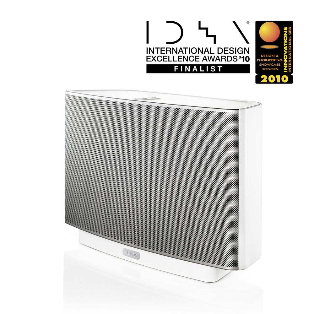 Sonos (old PLAY:5) ZonePlayer S5 International Design Excellence Awards (IDEA) - Finalist CEA Innovations Award - Honoree