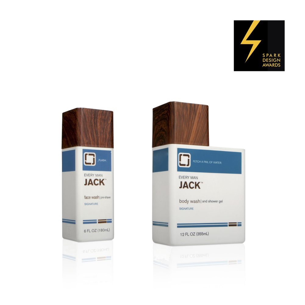 Every Man Jack Packaging   Spark Awards